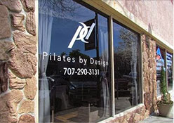 Pilates by Design Store Front